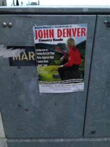 I guess John Denver has Irish fans